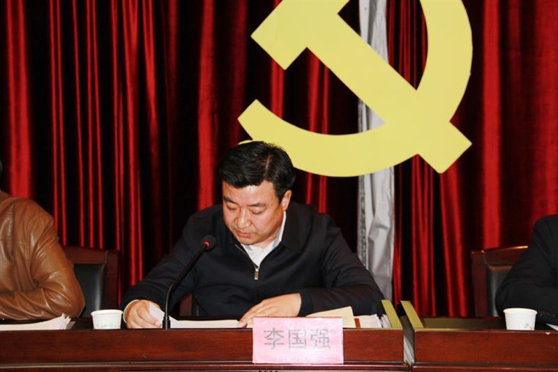 县人民政府副县长李国强做了讲话